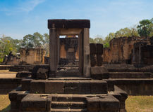 Schloss Sa Kampheang Yai Stockfotos