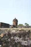 Schloss San Fernando de Omoa Stockbilder