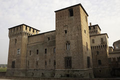 Schloss San-Giorgio in Mantova Stockbild