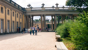 Schloss sans souci stock photo