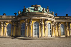 Schloss Sanssouci. In Potsdam, Germany Royalty Free Stock Images