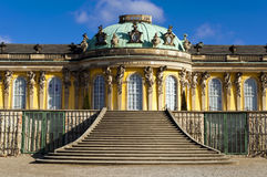 Schloss Sanssouci Photos stock