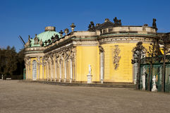 Schloss Sanssouci. In Potsdam, Germany Royalty Free Stock Photos