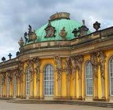 Schloss Sanssouci stockbilder