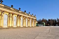 Schloss Sanssouci, Potsdam, Alemanha Fotos de Stock