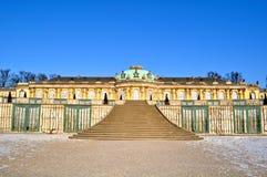 Schloss Sanssouci, Potsdam, Germany royalty free stock photography