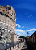 Schloss Sant Angelo in Rom Stockfotos