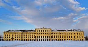 Schloss Schönbrunn维恩 免版税库存图片
