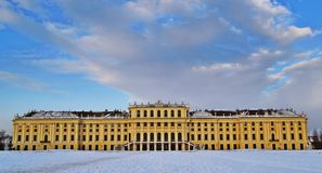 Schloss Schönbrunn Wien Obrazy Royalty Free