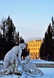 Schloss Schönbrunn Wien Arkivfoto