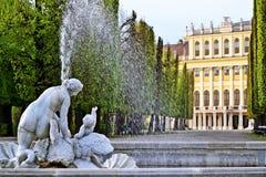 Schloss Schönbrunn, Wien Fotografia Stock