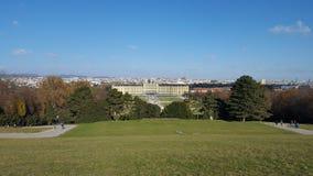 Schloss Schönnbrunn Arkivfoton