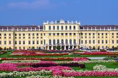 Schloss Schönbrunn, Viena imagen de archivo