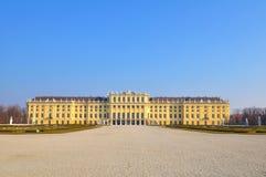 Schloss Schönbrunn, Vienna. Schonbrunn palace in Vienna Austria Stock Photos