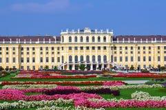 Schloss Schönbrunn, Wenen stock afbeelding