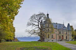 Schloss Schadau and garden around, Thun, Switzerland Stock Photography