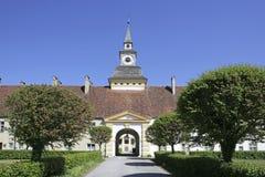 Schloss Schleissheim bei Muenchen in Oberbayern Stock Photography