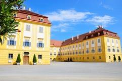 Schloss Schloss Hof in Niederösterreich Stockfotografie