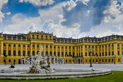 Schloss Schoenbrunn Lizenzfreies Stockfoto