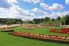 Schloss Schoenbrunn Palace, Vienna - Austria Stock Image