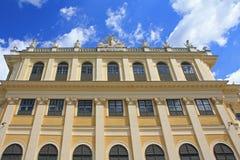Schloss Schoenbrunn slott, Wien - Österrike Arkivbilder