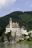 Schloss Schoenbuehel Stockbild