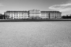 Schloss Schonbrunn i Wien, Österrike i 2016 Royaltyfri Bild