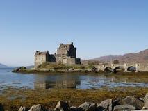 Schloss in Schottland Lizenzfreies Stockbild