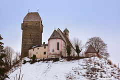 Schloss Schwaz in Österreich lizenzfreie stockfotografie