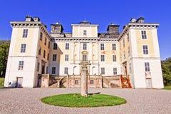 Schloss in Schweden. Stockbild