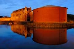 Schloss in Schweden Lizenzfreies Stockfoto