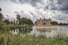 Schloss Schweriner Стоковые Изображения RF