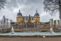 Schloss Seehof, Alemanha imagem de stock