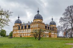 Schloss Seehof, Alemania Foto de archivo