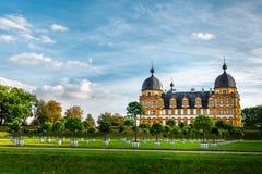 Schloss Seehof - Memmelsdorf около Бамберга стоковое изображение rf