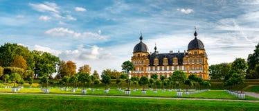 Schloss Seehof - Memmelsdorf dichtbij Bamberg royalty-vrije stock foto