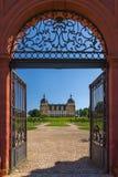 Schloss Seehof Memmelsdorf - Tyskland Arkivfoton