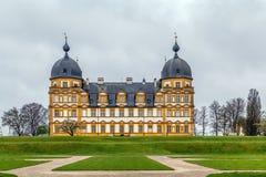 Schloss Seehof, Tyskland Arkivfoto