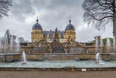 Schloss Seehof, Tyskland Fotografering för Bildbyråer