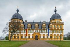 Schloss Seehof, Tyskland Royaltyfri Foto