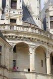 Schloss Shambor in Frankreich im August im Jahre 2015 Lizenzfreies Stockbild
