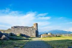 Schloss Shkoder Albanien Rozafa Stockfotos