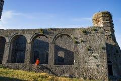 Schloss Shkoder Albanien Rozafa Lizenzfreies Stockbild