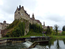 Schloss Sigmaringen Arkivbild