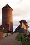 Schloss in Sigulda Stockfotografie