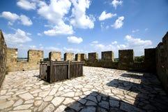 Schloss smederevo, Serbien lizenzfreie stockbilder