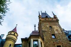 Schloss Sobotka Gorka Stockbilder