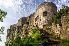 Schloss Socerb stockfotografie
