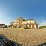 Schloss Solitude. Castle Solitude, Stuttgart Germany on a sunny cloudless day Stock Photo