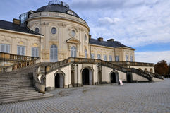 Schloss solitude courtyard facade, stuttgart Stock Images